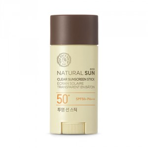 Buy The Face Shop Natural Sun Eco Clear Sunscreen Stick - Nykaa