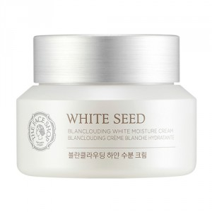 Buy The Face Shop White Seed Blanclouding Moisture Cream - Nykaa
