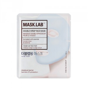 Buy The Face Shop Mask Lab Double Wrap Face Mask - Nykaa