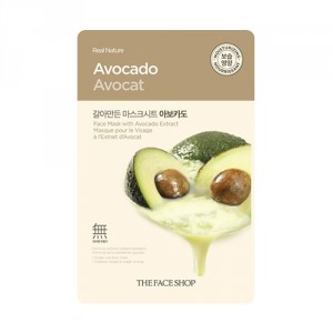 Buy Herbal The Face Shop Real Nature Avocado Face Mask - Nykaa