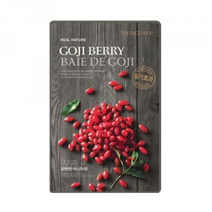 Buy The Face Shop Real Nature Goji Berry Face Mask - Nykaa