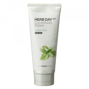 Buy The Face Shop Herb Day 365 Cleansing Foam Spearmint - Nykaa