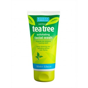 Buy Beauty Formulas Tea Tree exfoliating Facial Wash - Nykaa