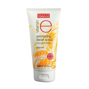 Buy Beauty Formulas Vitamin E Exfoliating Facial Scrub - Nykaa