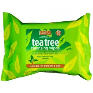 Buy Beauty Formulas Australian Tea Tree Cleansing Wipes - Nykaa