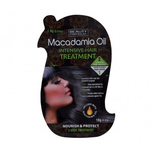 Buy Beauty Formulas Macadamia Oil Intensive Hair Treatment - Nykaa