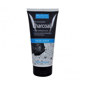 Buy Beauty Formulas With Activated Charcoal Facial Scrub - Nykaa