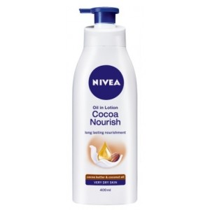 Buy Herbal Nivea Cocoa Nourish Body Lotion - Nykaa