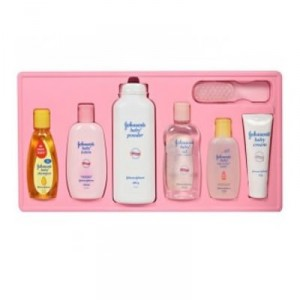Buy Johnson & Johnson Baby Care Deluxe Collection Set Of 7 - Nykaa