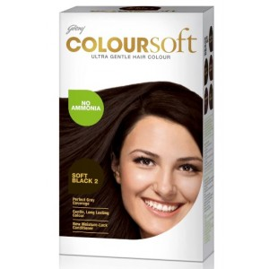 Buy Godrej Coloursoft Hair Colour - Soft Black - Nykaa
