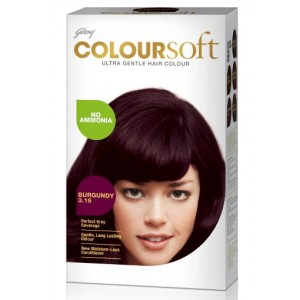 Buy Godrej Coloursoft Hair Colour - Burgundy - Nykaa