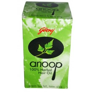 Buy Godrej Anoop Herbal Hair Oil - Nykaa