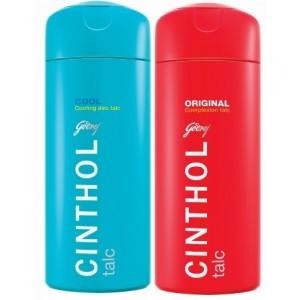 Buy Cinthol Original Talc + Free Cinthol Cool Deo Talc 100gm worth Rs.45 - Nykaa