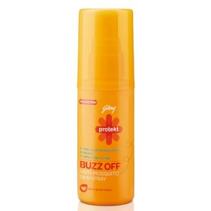Buy Godrej Protekt Buzz Off Anti-Mosquito Skin Spray - Nykaa