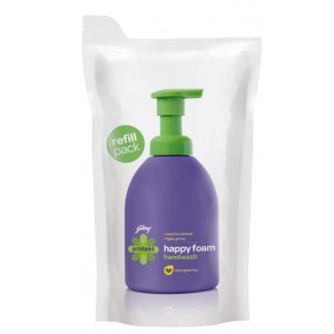 Buy Herbal Godrej Protekt Refill Pouch Happy Foam Handwash - Nykaa