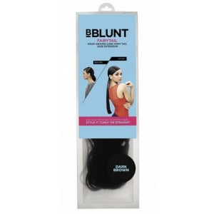 Buy BBLUNT Fairytail, Wrap Around Long Pony Tail Hair Extension, Dark Brown - Nykaa
