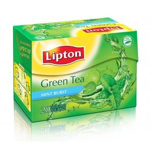 Buy Lipton Green Tea Mint Burst - Nykaa