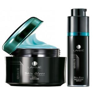 Buy Lakme Skin Gloss Serum+ Skin Gloss Gel  - Nykaa
