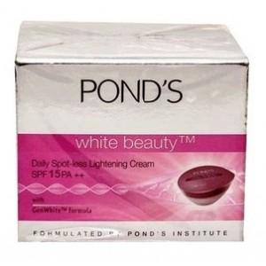 Buy Ponds White Beauty Daily Spot-less Lightening Cream SPF 15 PA++ - Nykaa