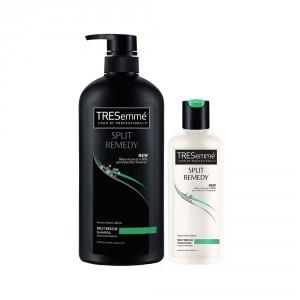 Buy TRESemme Split Remedy Shampoo+ Free Conditioner 85 ml - Nykaa