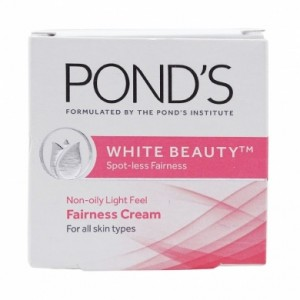Buy Ponds White Beauty Spot Less Fairness Non Oily Light Feel Cream - Nykaa