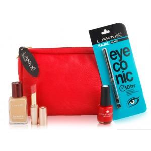 Buy Herbal Lakme Essential Beauty Kit - Nykaa