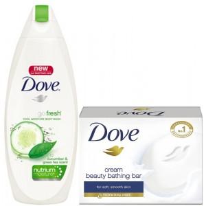 Buy Dove Go Fresh Nutrium Moisture Body Wash + Free Dove Soap - Nykaa