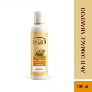 Buy Lever Ayush Anti Damage Fenugreek Shampoo - Nykaa