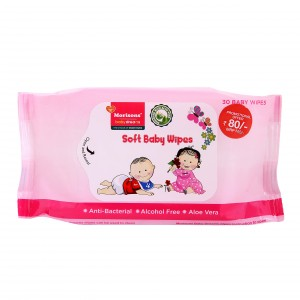Buy Morisons Baby Dreams Baby Wipes - 30 Sheets  - Nykaa