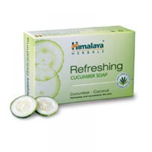Buy Himalaya Herbals Refreshing Cucumber Soap - Nykaa
