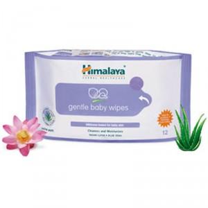Buy Himalaya Herbals Gentle Baby Wipes - Nykaa
