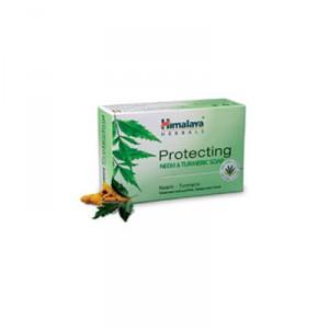 Buy Herbal Himalaya Herbals Protecting Neem & Turmeric Soap - Nykaa
