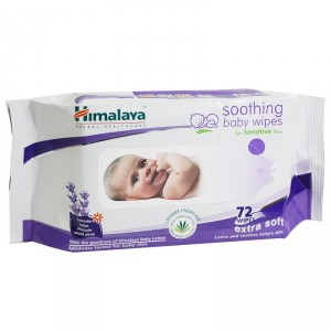 Buy Himalaya Baby Care Soothing Baby Wipes - 72 Wipes - Nykaa