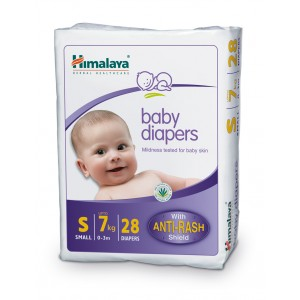 Buy Himalaya Baby Care Baby Diapers Small - 28 Diapers - Nykaa