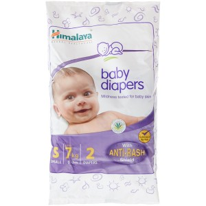 Buy Himalaya Baby Care Baby Diapers Small - 2S Diapers - Nykaa