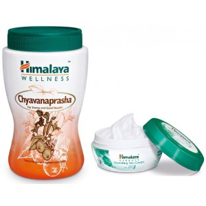 Buy Himalaya Wellness Chyavanaprasha + Nourishing Skin Cream - Nykaa