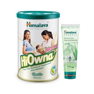 Buy Himalaya Mom's Care HiOwna Momz Vanilla Flavour + Free Moisturizing Aloe Vera Face Wash - Nykaa