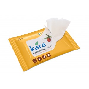 Buy Kara Sunscreen Skin Care Wipes Plum And Aloe Vera (25 Wipes) - Nykaa
