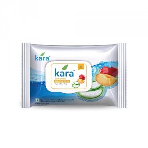 Buy Kara Sunscreen Skin Care Wipes Plum & Aloe Vera 30P - Nykaa