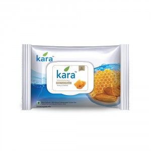 Buy Kara Moisturizing Wipes With Honey And Almond (30 Wipes) - Nykaa