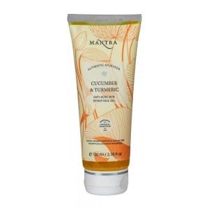 Buy Mantra Cucumber & Turmeric Anti-Acne Skin Repair Face Gel - Nykaa