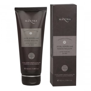 Buy Mantra Aloe, Kewra & White Willow After Shave Gel For Men - Nykaa