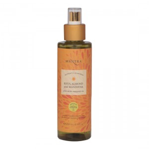Buy Mantra Khus, Almond And Manjistha Pitta Body Massage Oil  - Nykaa