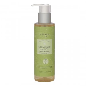 Buy Mantra Palma Christi And Olive Hair Cleanser For Dry & Damaged Hair  - Nykaa