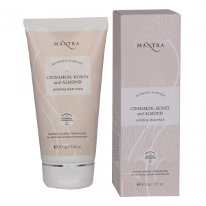 Buy Mantra Cinnamon, Honey And Almond Polishing Mud Pack - Nykaa
