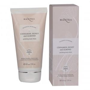 Buy Mantra Cinnamon, Honey And Almond Polishing Mud Pack - Nykaa