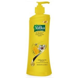Buy Dabur Vatika Oil Balance Dandruff Treatment Shampoo - Nykaa