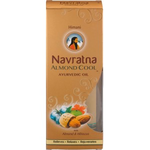 Buy Navratna Almond Cool Oil - Nykaa