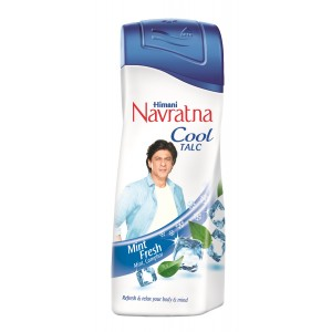 Buy Navratna Mint Fresh Talc - Nykaa