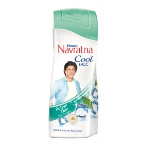 Buy Navratna Cool Talc Active Deo - Nykaa
